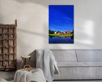 Westerholt Panorama rechtopstaand van Edgar Schermaul