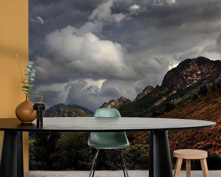 Sfeerimpressie behang: Sierra Guadaloupe van Harrie Muis