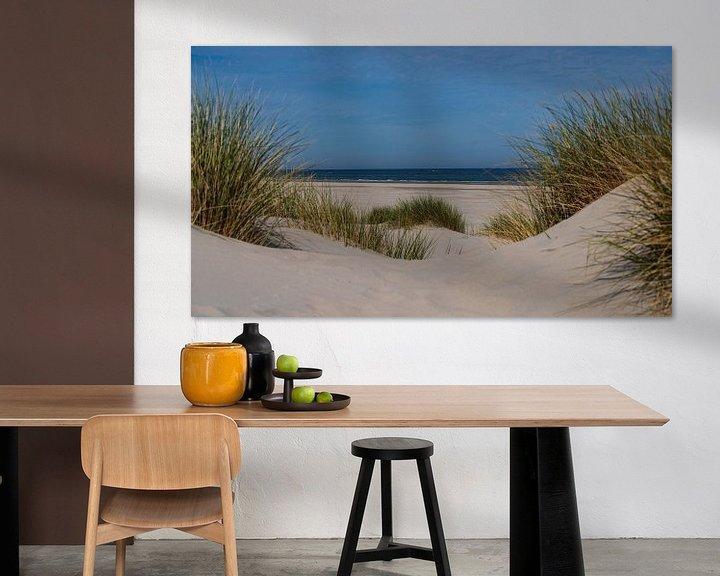 Sfeerimpressie: Doorkijkje naar de Noordzee van Willemke de Bruin