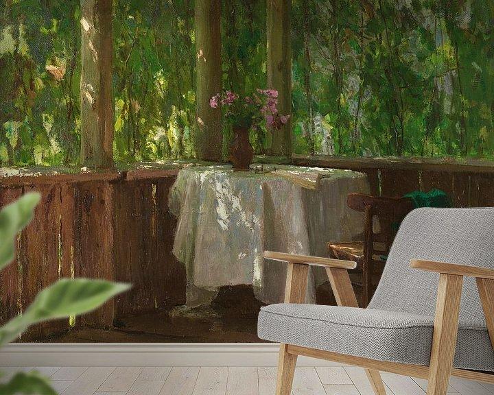 Beispiel fototapete: Auf der Veranda, Alexey Gritsay