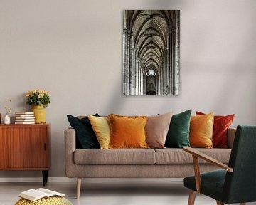 In der Kathedrale von Amiens von Ellen van Schravendijk