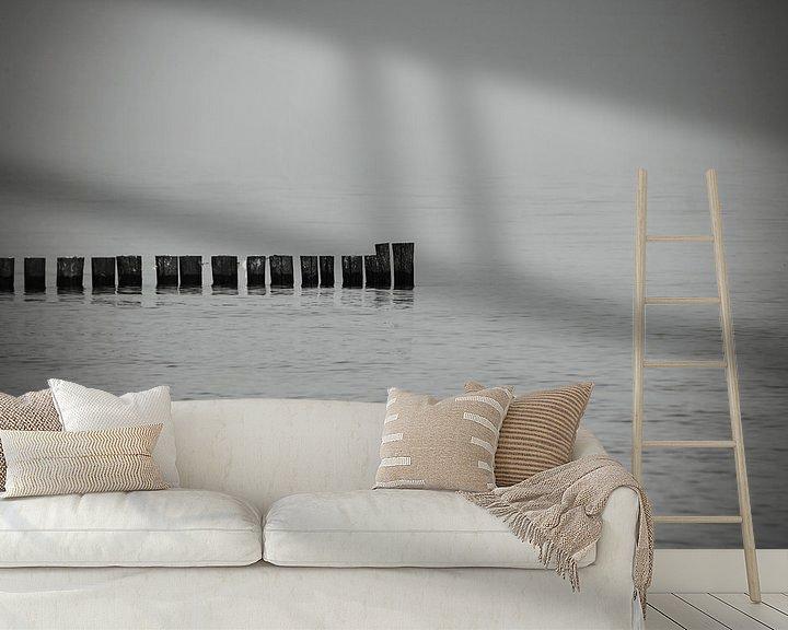 Beispiel fototapete: Stillleben am Meer von Frank Herrmann