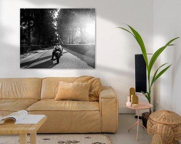 motor - motorfiets van Ivanovic Arndts