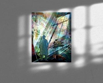 Musik schwebt im Raum das Finale von Gertrud Scheffler