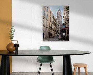 malaga spanien stadt spanien architektur mädchen von Ivanovic Arndts