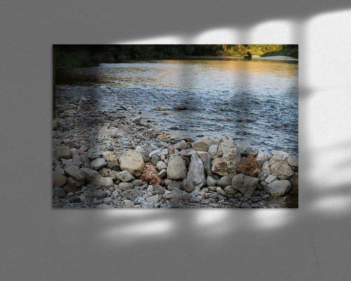 Sfeerimpressie: Vrede op de rivier van Heike Klein
