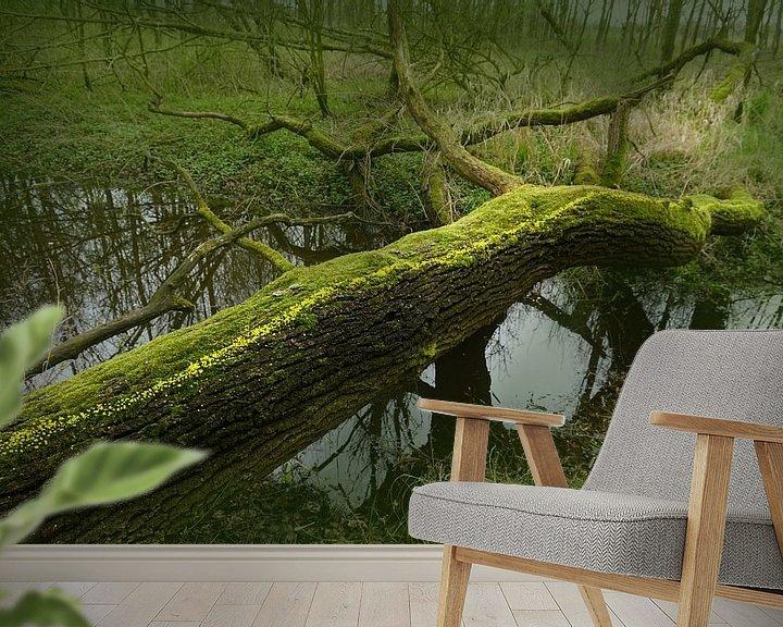Sfeerimpressie behang: We steken over van Mies Heerma