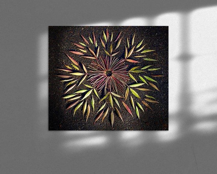 Sfeerimpressie: Blad Kristal van Mies Heerma
