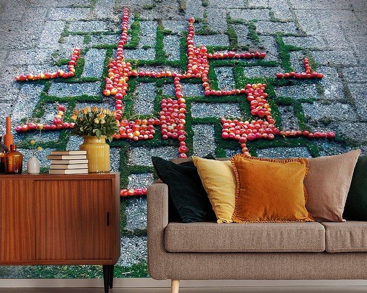 Sfeerimpressie behang: Volg het patroon van Mies Heerma