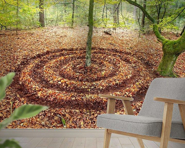 Beispiel fototapete: Zen von Mies Heerma