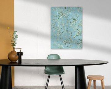 Vincent Van Gogh Mandelblüten Muster von Uta Naumann