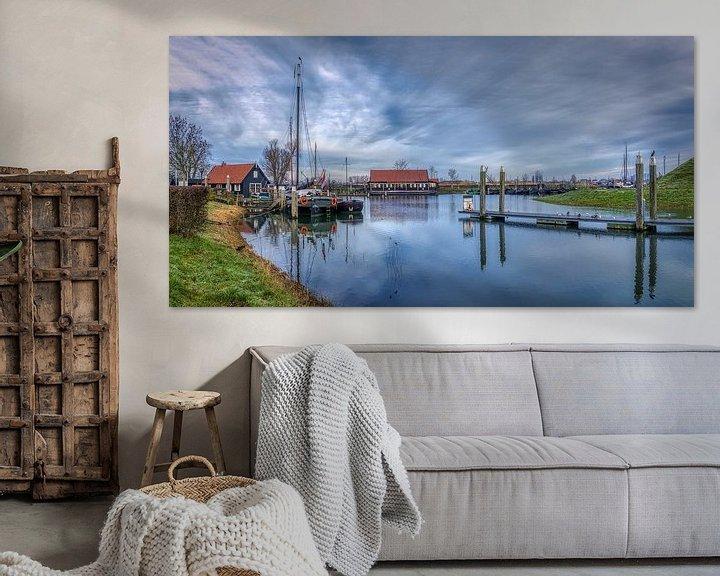 Sfeerimpressie: Rust in de oude Hollandse haven van Mart Houtman