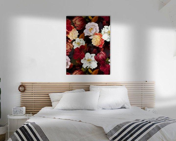 Beispiel: Mitternachts Rosen Garten von Uta Naumann