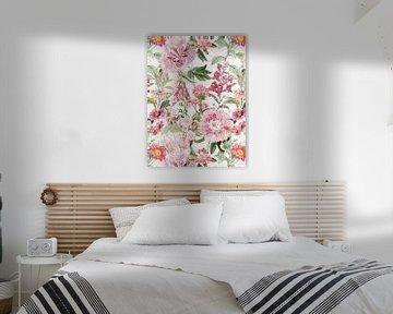 Pink Frühlings Blüten Garten von Uta Naumann