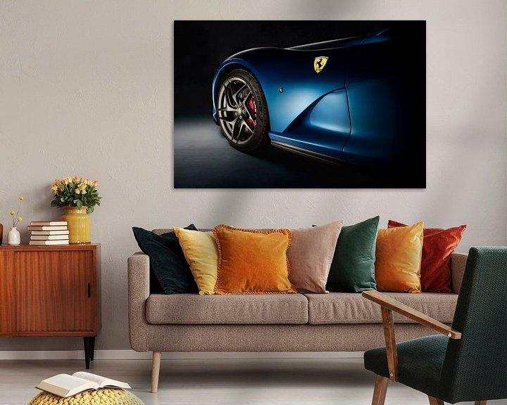 Sfeerimpressie: Ferrari 812 Superfast van Thomas Boudewijn