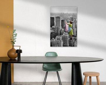 Big City Laundry - Coloured Edition sur Marja van den Hurk