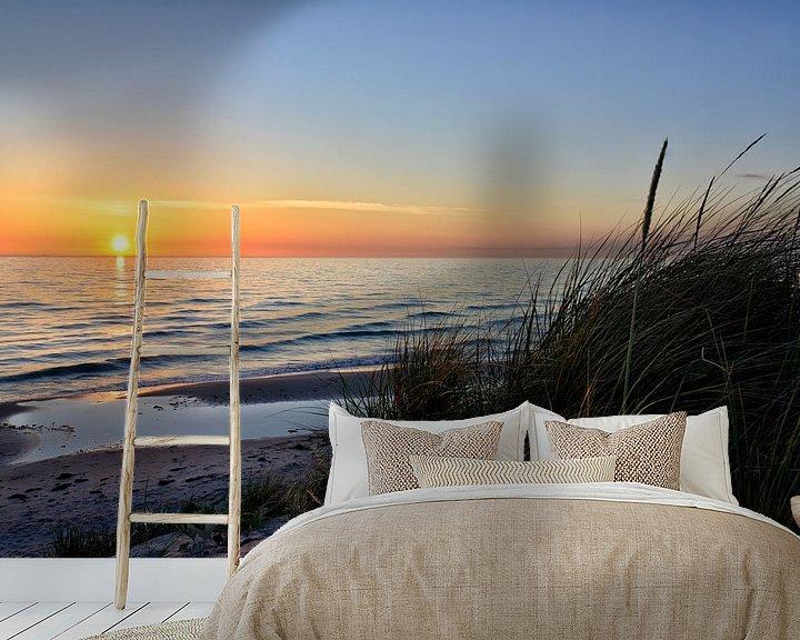 Beispiel fototapete: Ostsee-Abend von Joachim G. Pinkawa
