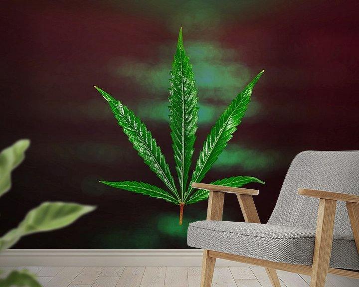 Beispiel fototapete: Cannabis von Tilo Grellmann | Photography