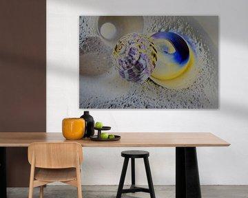 Blau und Gelb Nr. 2 von Evert Jan Looise