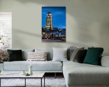 Lebuïnus kerk Deventer blauwe uurtje.