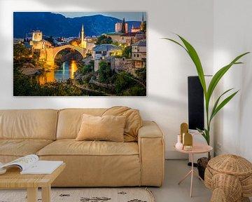 Mostar, Bosnië-Herzegovina van Adelheid Smitt