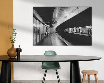 U-Bahn von Andrea Fuchs