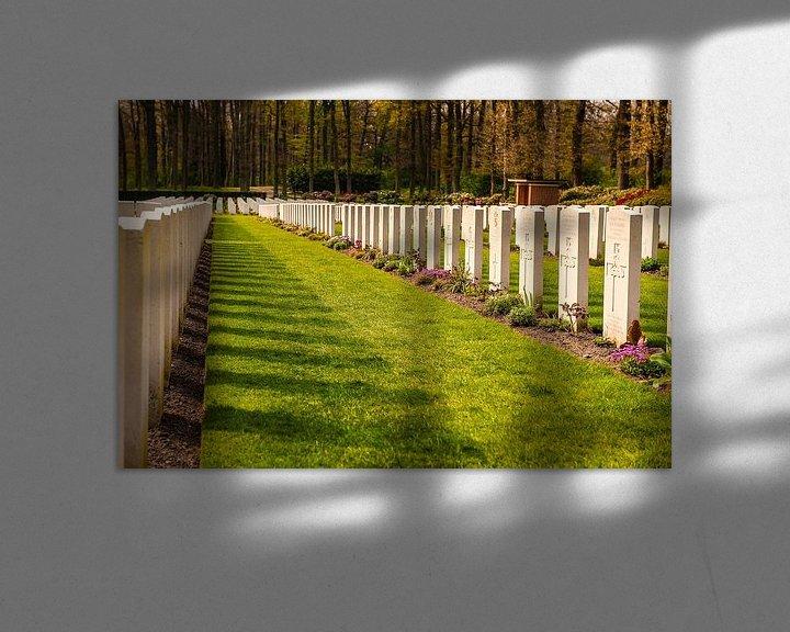 Sfeerimpressie: Airborne War Cemetery van Brian Morgan