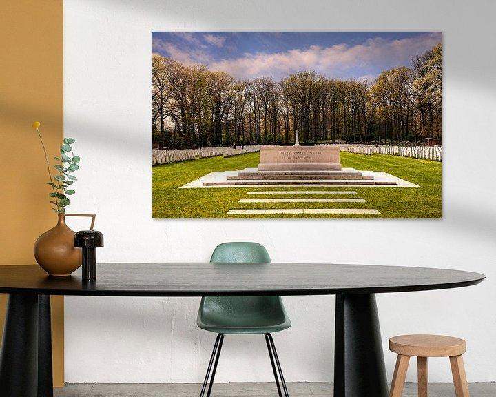 Sfeerimpressie: Airborne War Cemetery Netherlands van Brian Morgan