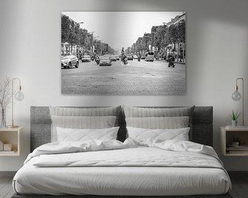 Paris, Avenue des Champs-Élysées von Elma Mud