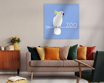 Kaketoe zoosign van Studio Mattie