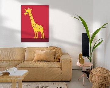 De Giraffe van Studio Mattie