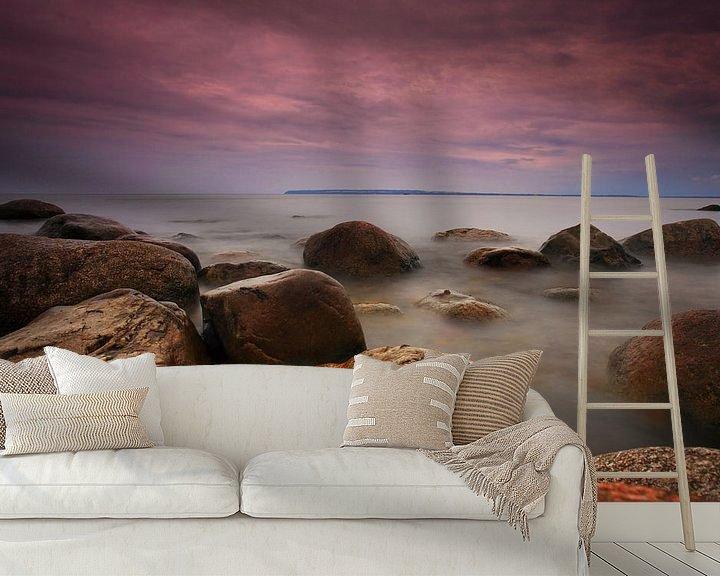 Beispiel fototapete: Steine am Ufer der Ostsee von Frank Herrmann
