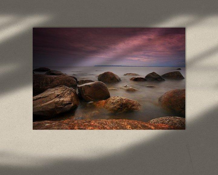 Beispiel: Steine am Ufer der Ostsee von Frank Herrmann