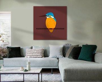 De ijsvogel van Studio Mattie