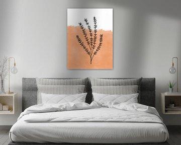 Lineart Plant abstract van Sophia Amend