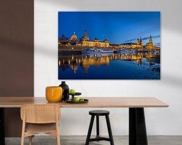 Skyline Dresden von Heiko Lehmann