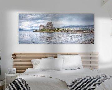 Eilean Donan Castle van Mart Houtman