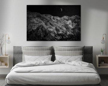 Karawanken at Night von Mart Houtman