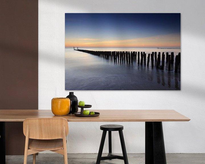 Sfeerimpressie: zonsondergang in Zeeland van gaps photography