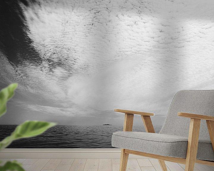 Sfeerimpressie behang: Wegdromen richting Utopia van Pieter Vandenhoudt
