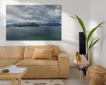 Senja Noorwegen landschap van Evelien van der Horst