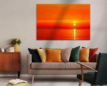 Sonnenaufgang über der Ostsee von Tilo Grellmann | Photography