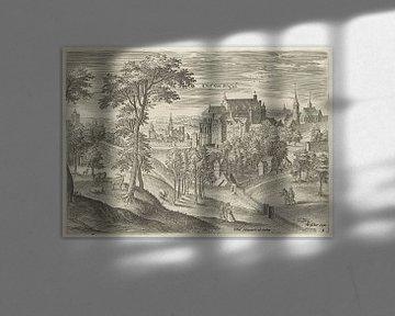 Hans Collaert (I), Blick auf den Schlosshof von Brüssel