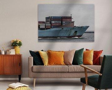 Inbound Containership! van scheepskijkerhavenfotografie