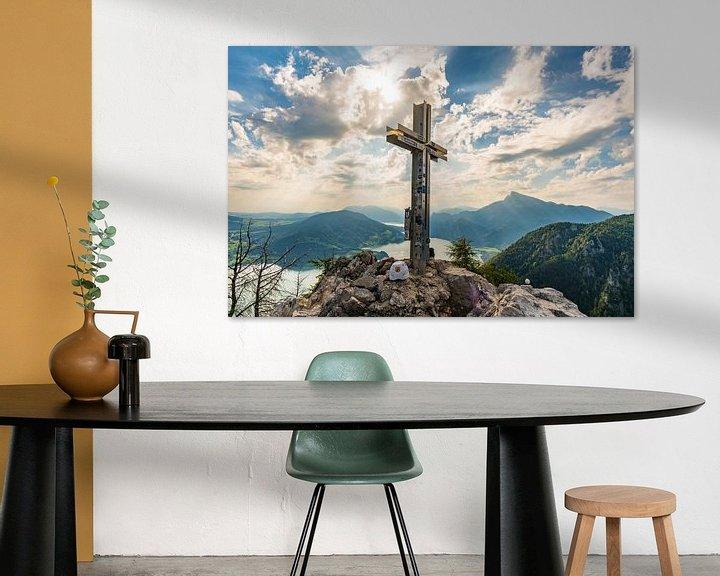 Sfeerimpressie: Panorama bij het topkruis van de Drakenmuur van MindScape Photography