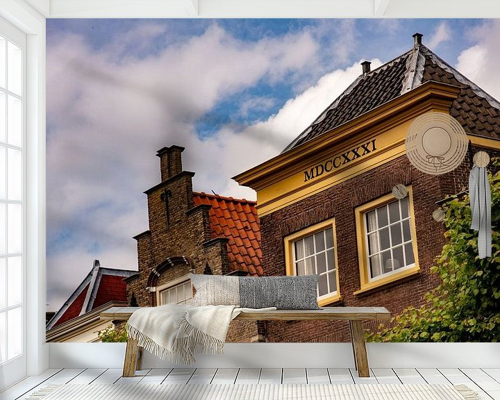 Sfeerimpressie behang: Anno van Michael van Eijk