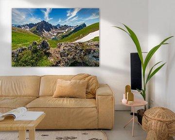 Vue panoramique dans le Tal de Tannheimer sur MindScape Photography