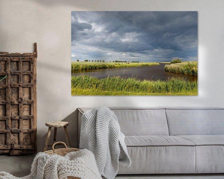 Beispiel: Wolken Landschaft. von Anjo ten Kate