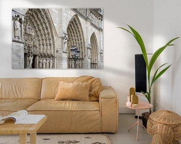 Architektonische Kunst in Paris - Kirche von Tessa Selleslaghs