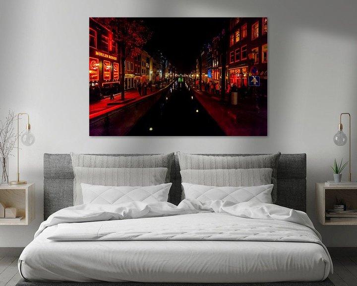 Beispiel: Rotlichtviertel Amsterdam von Brian Morgan